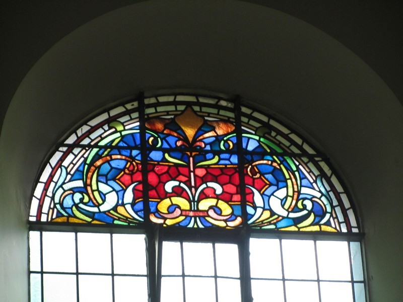 Window of the south gallery