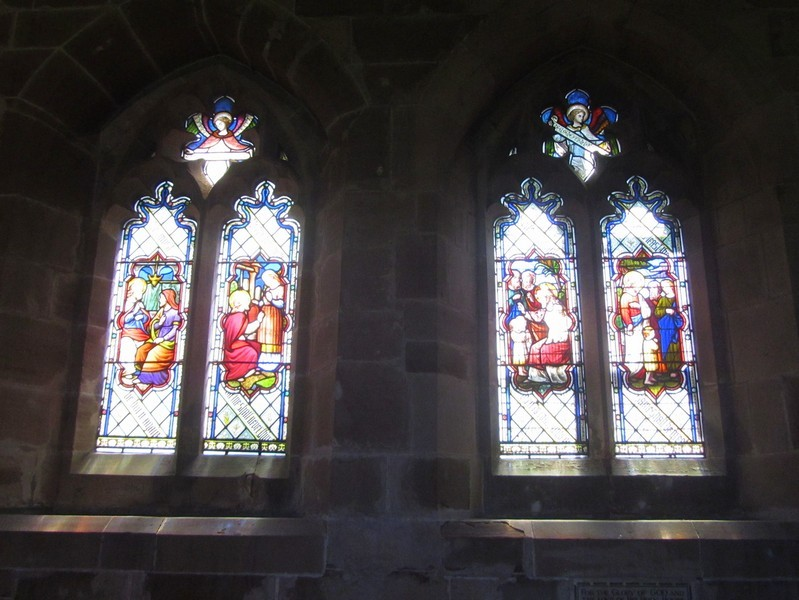South windows