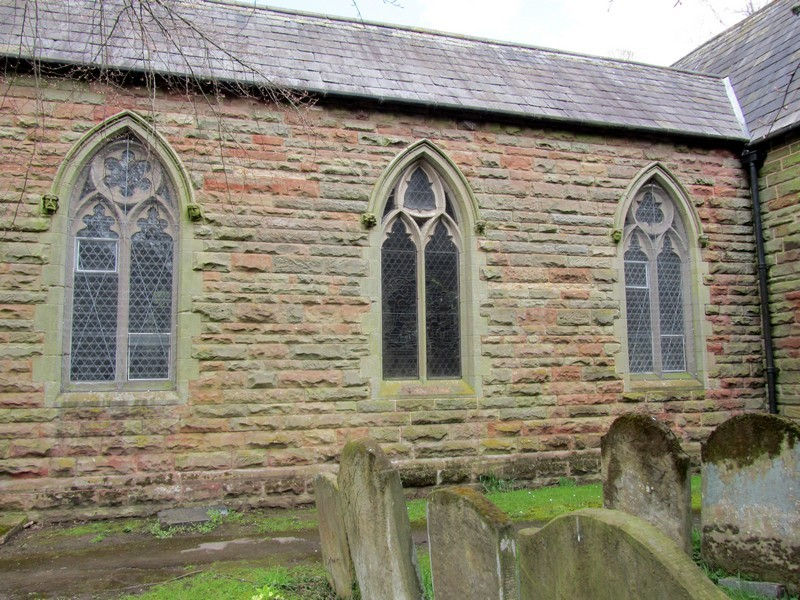 South aisle - Note: each window is dieferent.