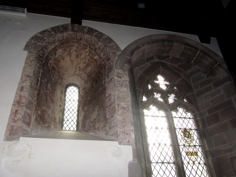 12th-century Norman window
