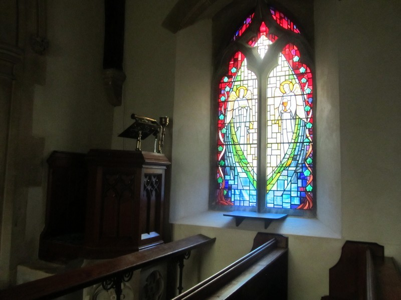 Window in memory of the Rector, Tudor Yestin Price. 1937-1970. The window is by Claude Price of Birmingham - related?