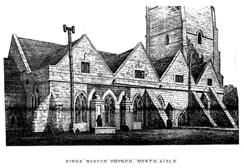 North aisle in the 19th century
