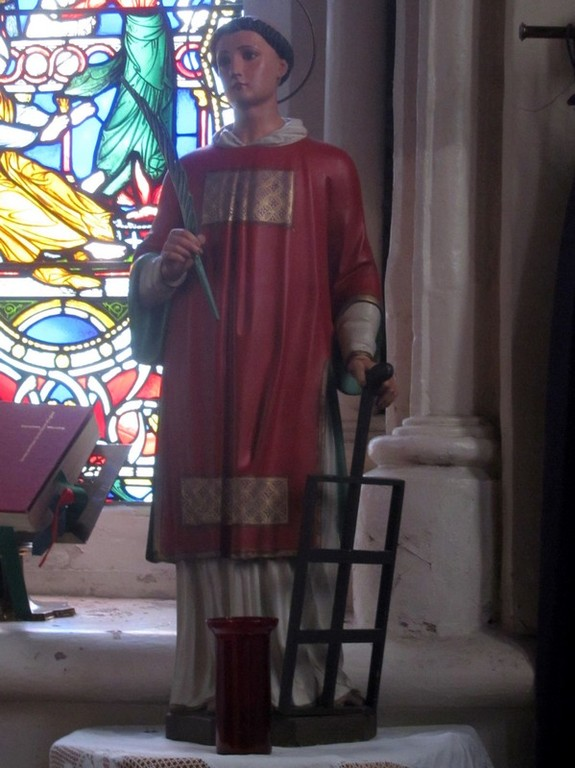 Statue of St Laurence