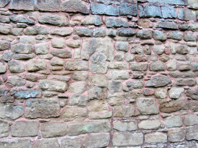 Blocked Norman window - north wall of the chancel