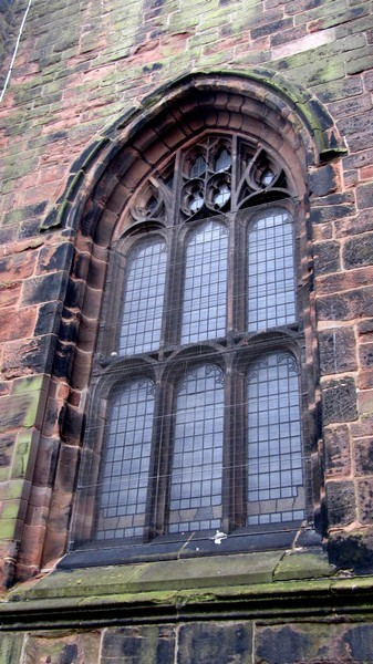 North window of the tower
