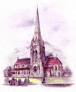 Chatwin's original plan of St Augustine's -  from the church website