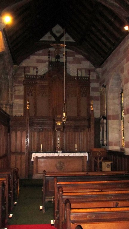 The Lady Chapel in the south aisle