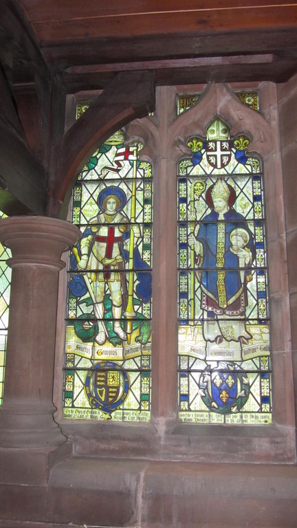Window in the north aisle