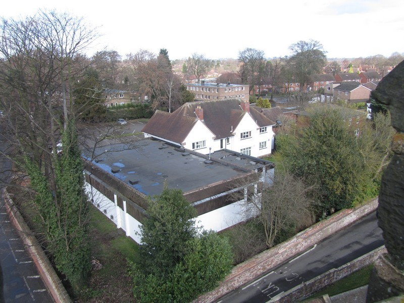 View from the tower of the Rectory and Pastoral Centre
