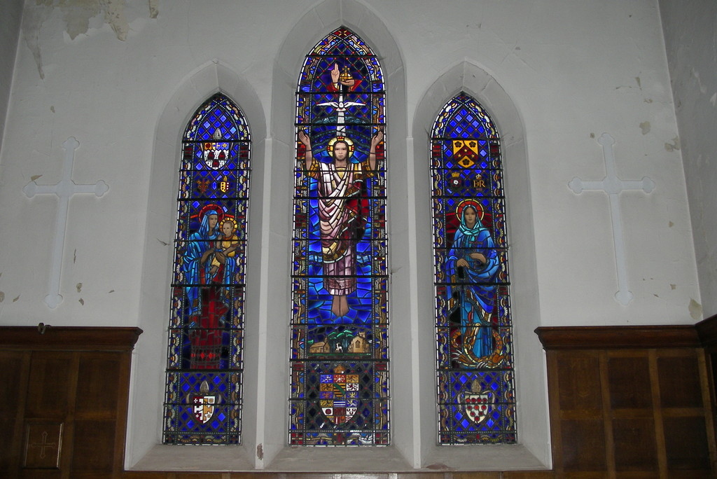 Claude Price east window replacing that destroyed during the Second World War