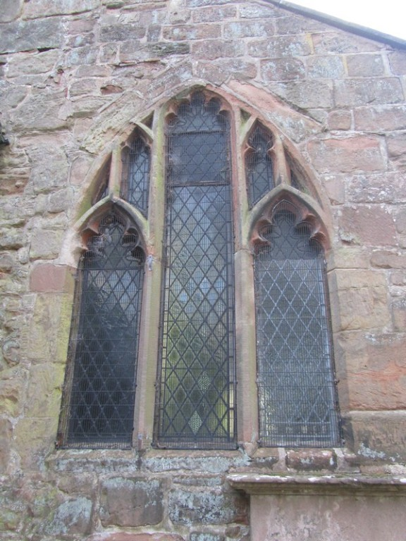The east window of the chancel dates from the late 13th century