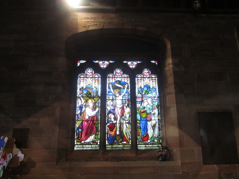 North aisle window