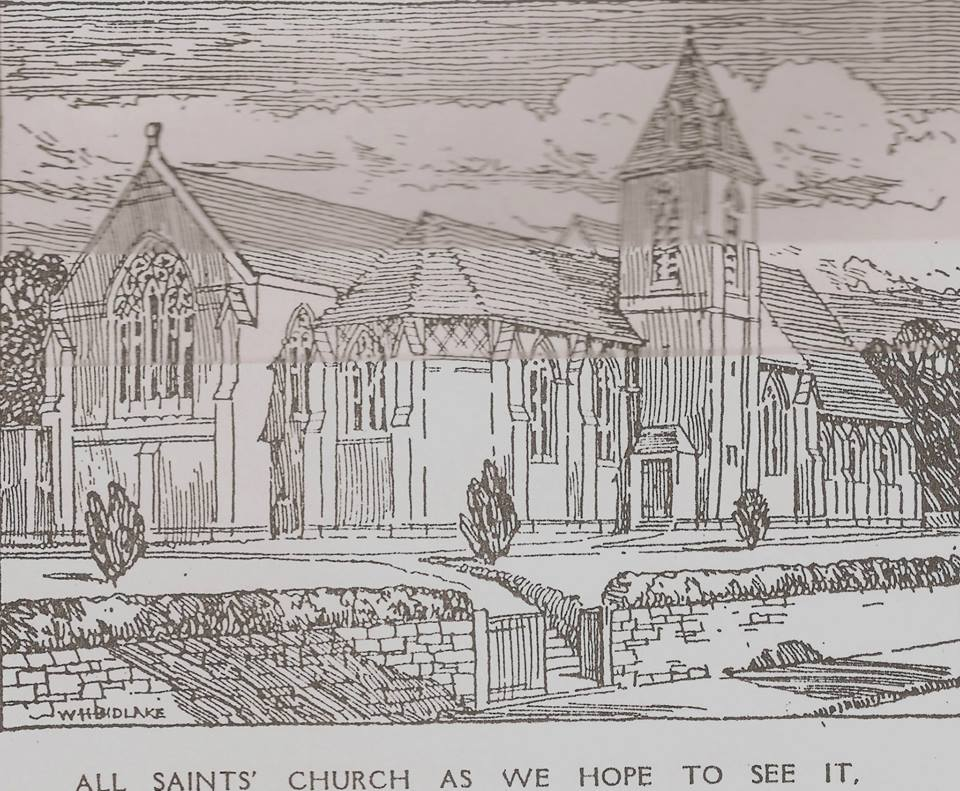 Bidlake's proposed church 1914