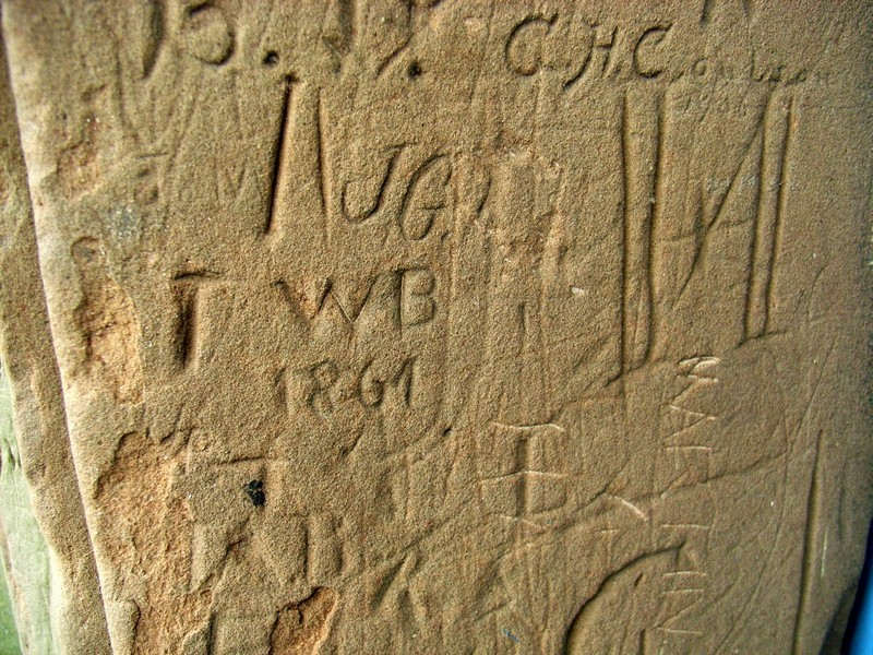 Three centuries of graffiti