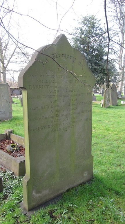 The Foden family grave