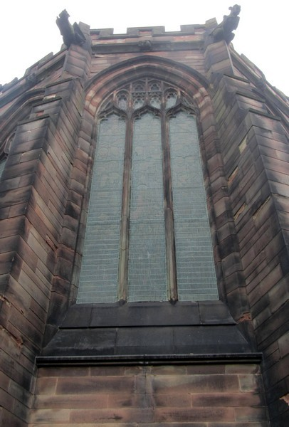 West window of the tower