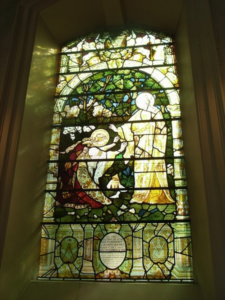 Victorian stained glass in the medieval tradition