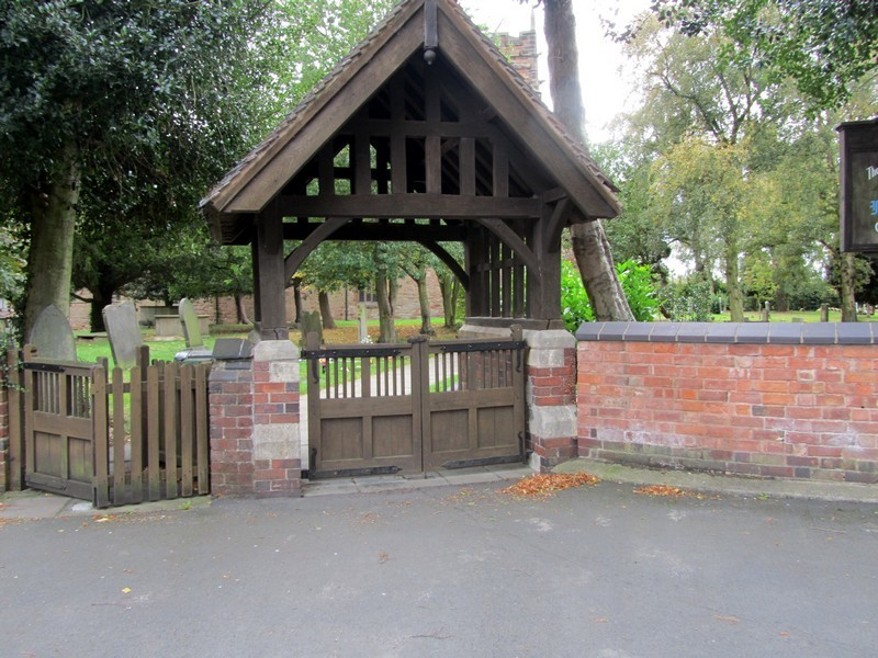 Lychgate - north side