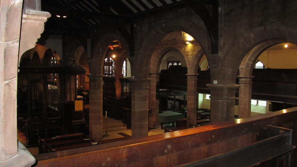 View from the north gallery