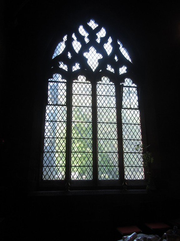 North aisle west window