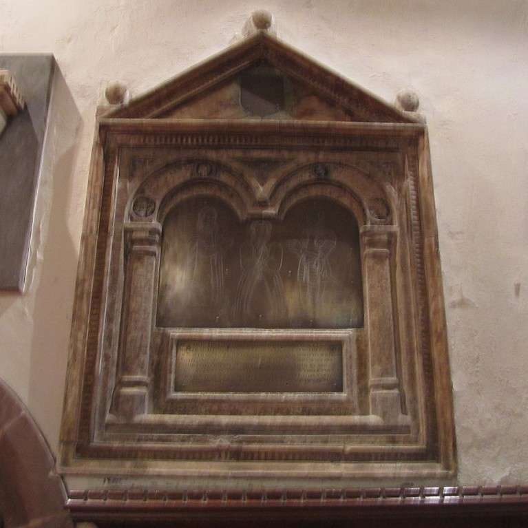 Memorial to Isabel Wheler d.1598