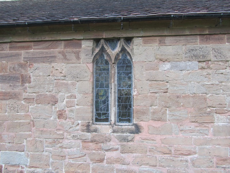 North aisle north window