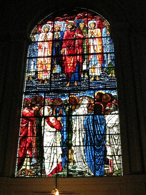 Burne-Jones Ascension in the chancel