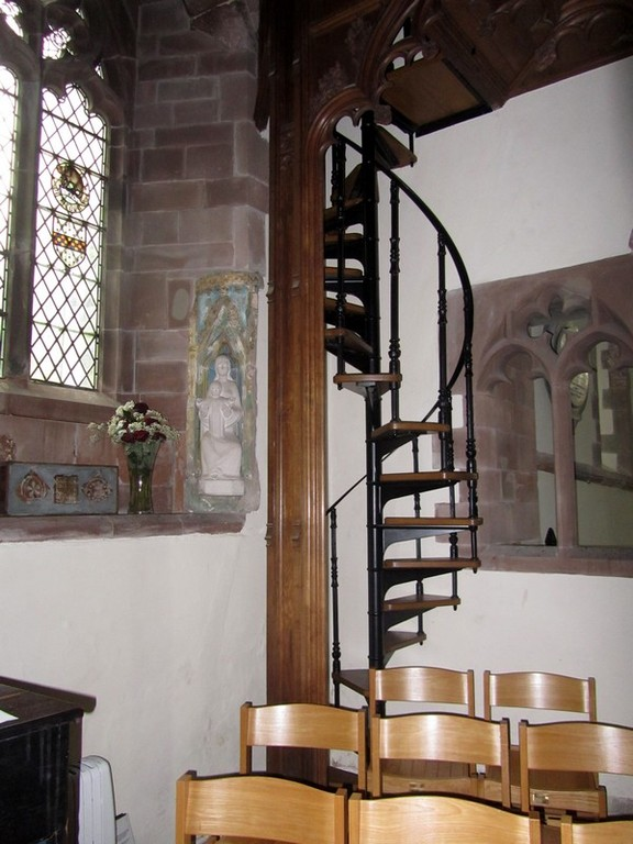 Stair to rood gallery