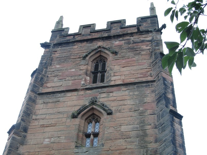 Tower - west elevation