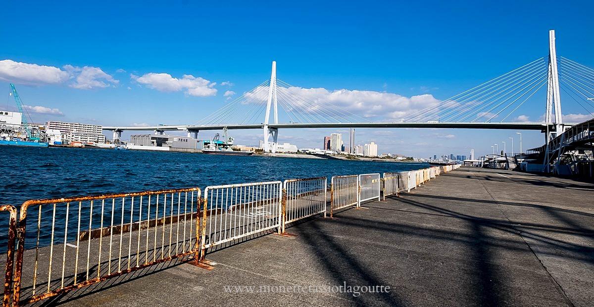 Vers le port d'Osaka