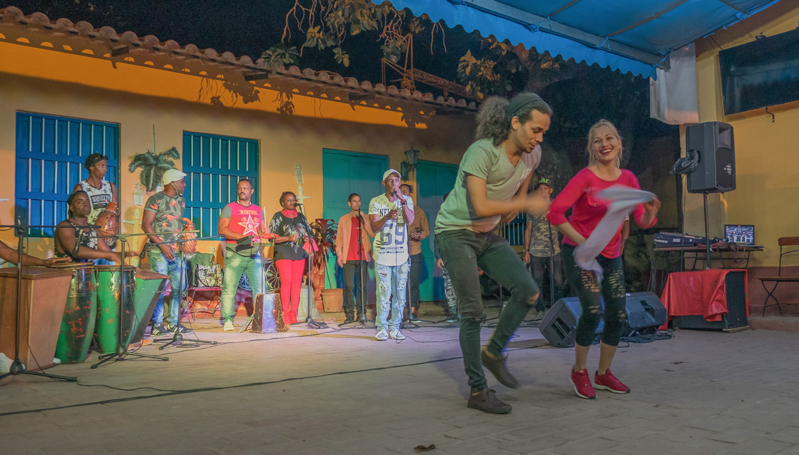 A Trinidad au Patio Becquet