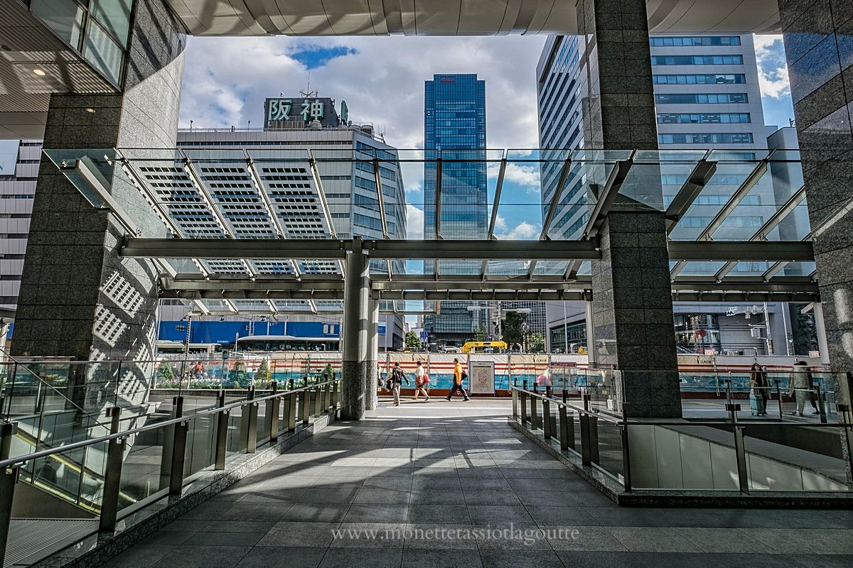 La gare Umeda de Osaka