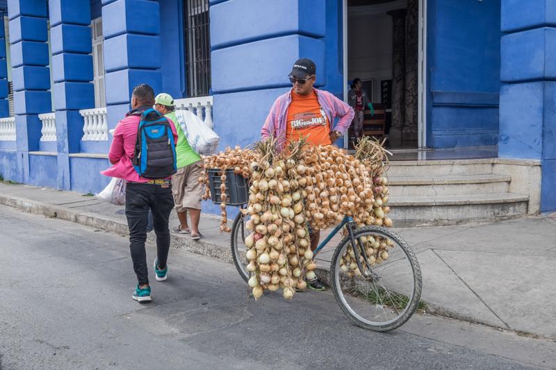 Le vendeur ambulant
