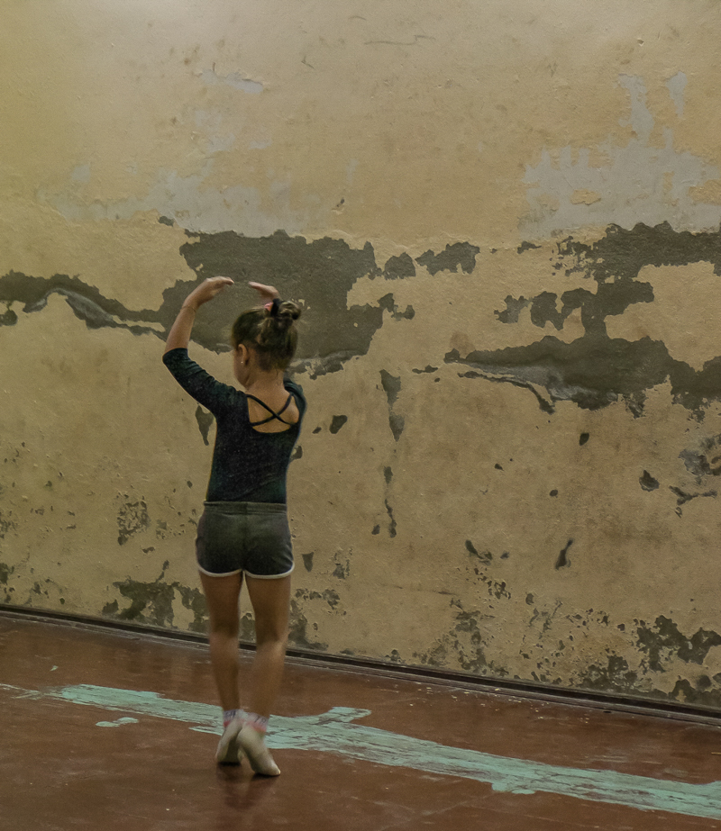 A Cienfuegos dans une école de danse