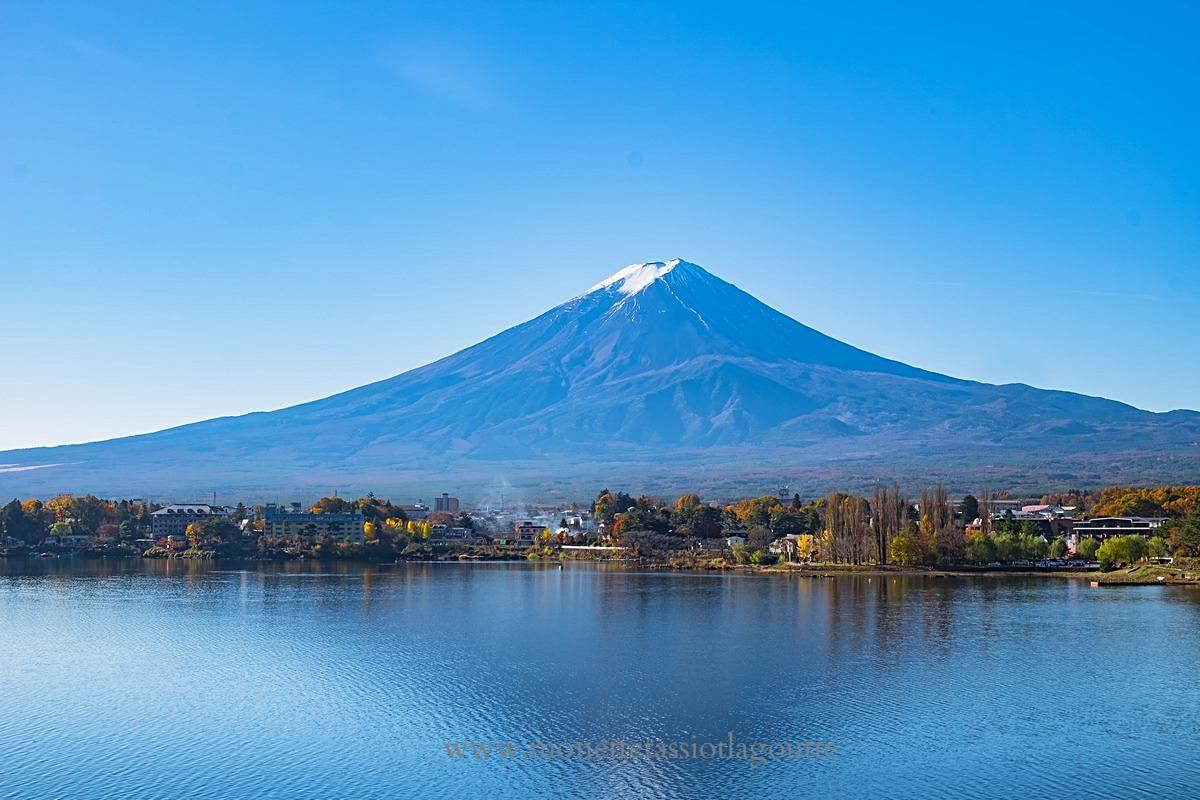 A kawaguchiko le Mont Fuji