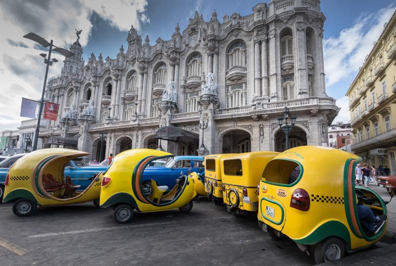 Tuk-tuks à La Havane