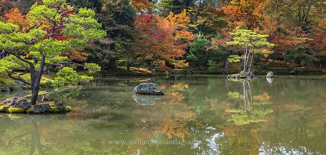 jardin au Ginkaku ji ou temple d'or