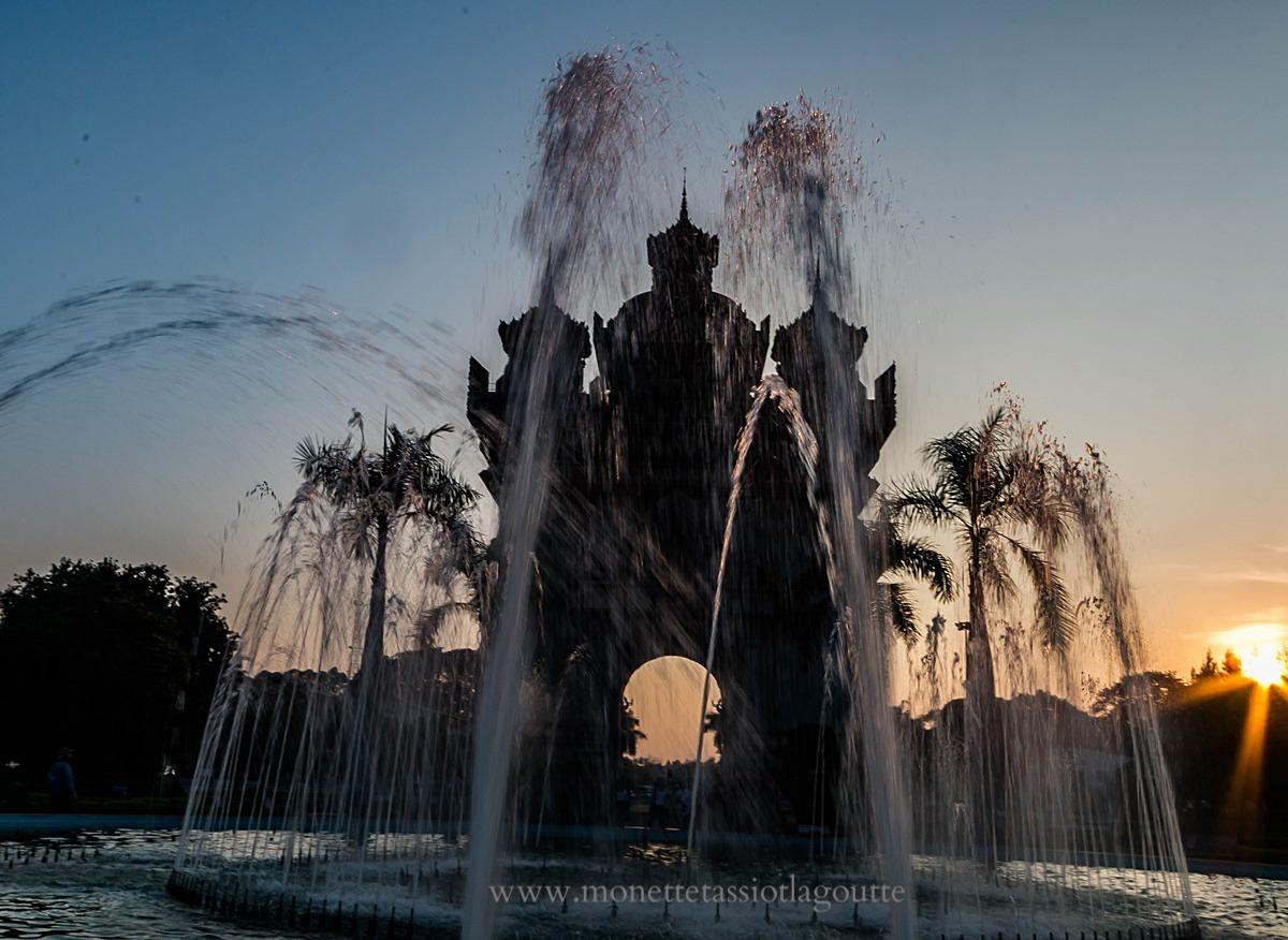 Vientiane , l'Arc de Triomphe
