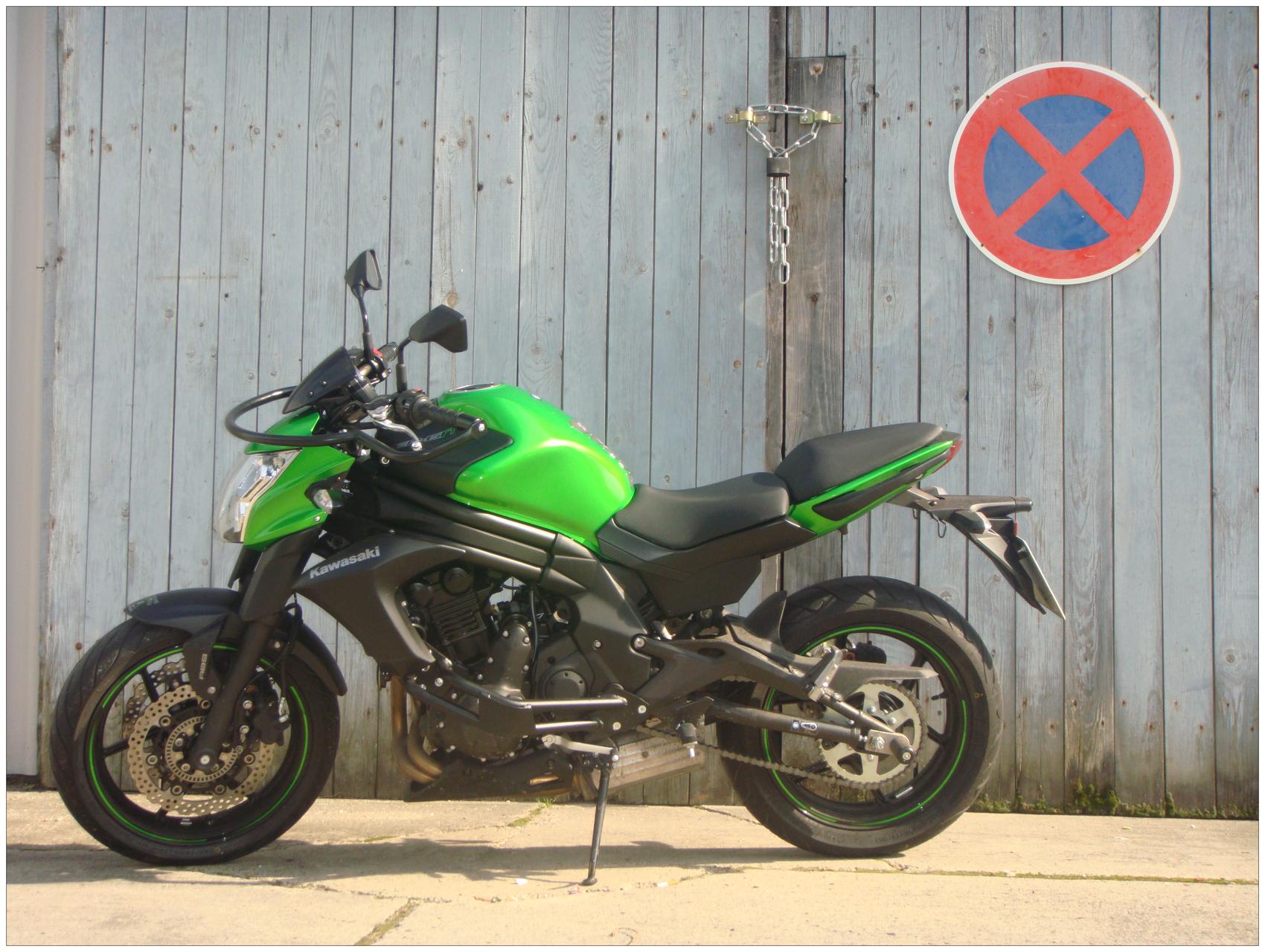 Die Kawasaki für den A2 Führerschein