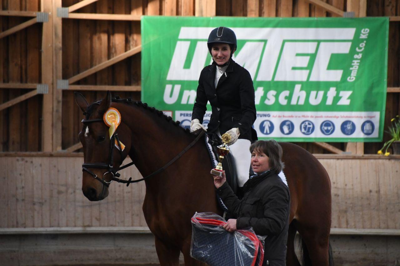 Belmondo Sieger Reitpferdeprüfung Hauenstein 2018