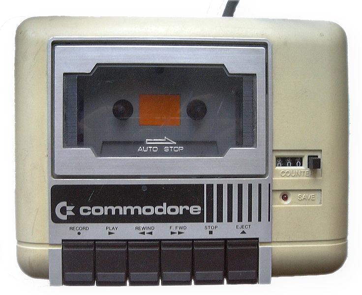Il riproduttore di cassette del Commodore 64 (Photo by: Toni Saarikko)