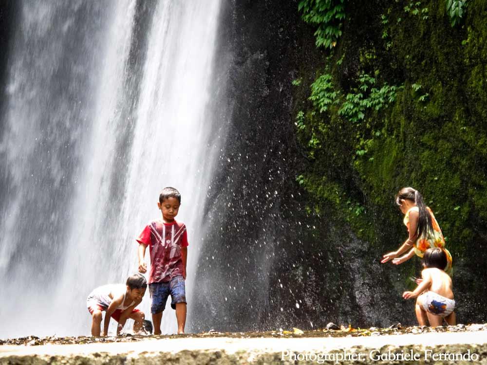 Munduk Waterfall in Bali. Le cascate di Munduk a Bali