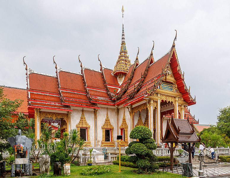 Phuket. Wat Chalong Temple