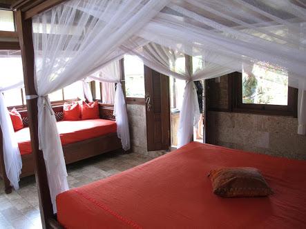 Una delle camere della Guci Guesthouse in Ubud (Photo by Gabriele Ferrando)