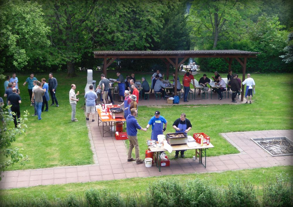 Grillen - Free at Heart - MännerCamp 2017