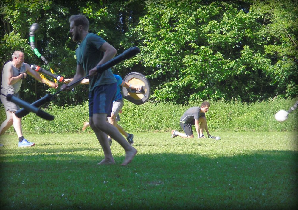 Jugger - Free at Heart - MännerCamp 2017