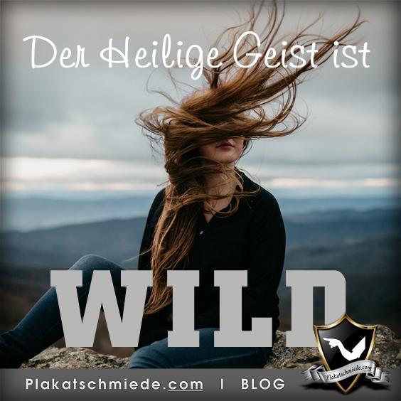 Der Heilige Geist ist WILD, christlicher Blog, Apostelgeschichte, Bibel