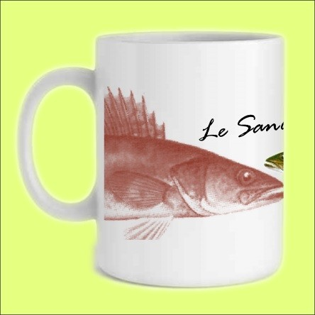 TASSE Mug Pêcheur Pêche Poisson