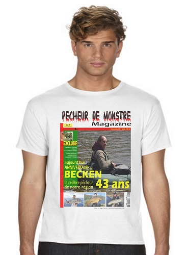 photo pêcheur sur tshirt