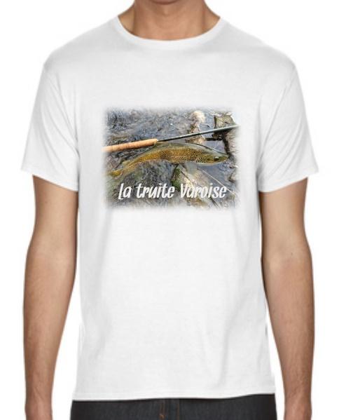 photo de pêcheur sur t-shirt